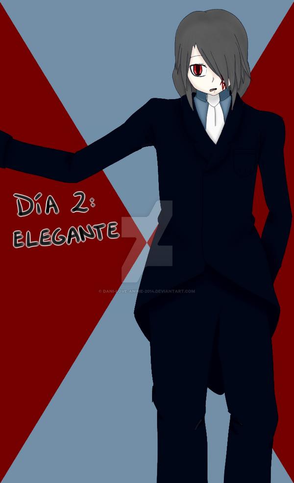 Dia 2 Elegante (Atrasado) by Dani-love-anime-2014