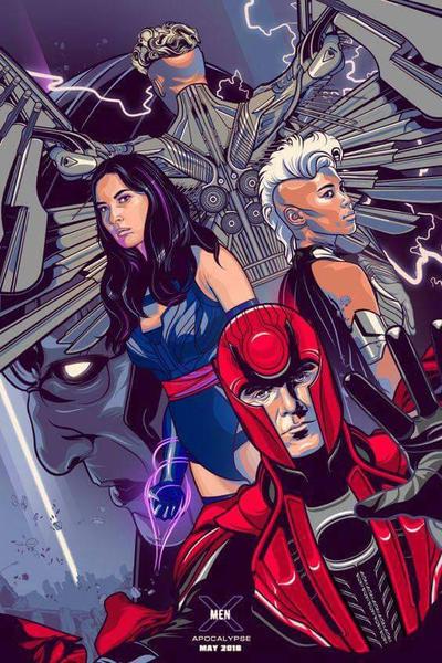X-Men Apocalypse by SouthernScot21