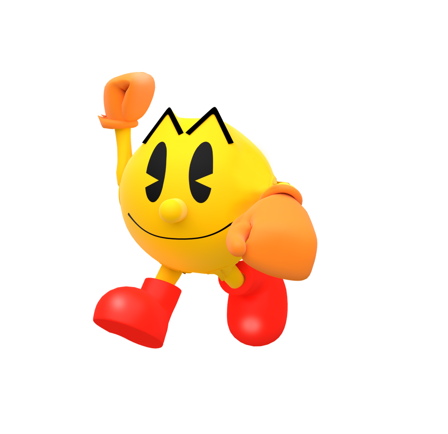 It's just a picture of Wild Pac Man Render