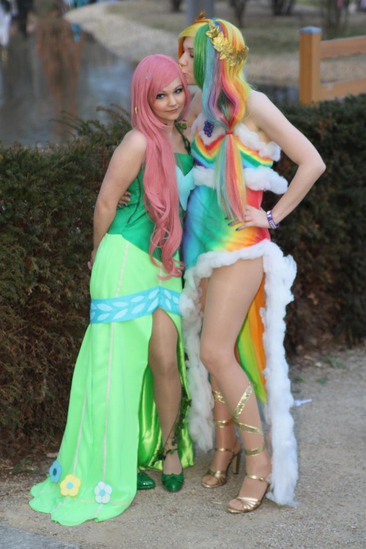 Mlp rainbow dash cosplay