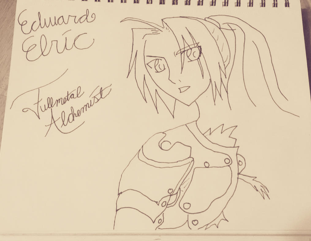 Edward Elric Full Metal Alchemist by soramitsuki16