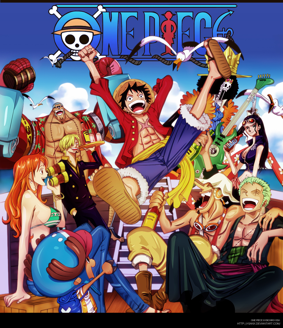 Anime Manga Covers: One Piece Cover 61 By I-SANx On DeviantArt