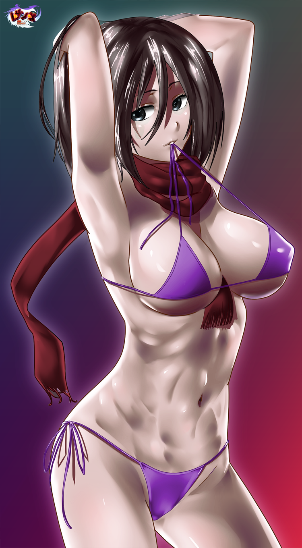 Mikasa ackerman - Bikini version