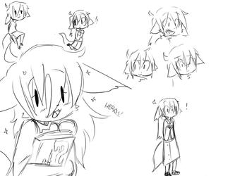 Jade doodles by Talking-TadPol