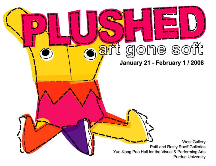 PLUSHED - Art Gone Soft by treesofmachinery