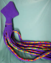 Purple Gangly Squid