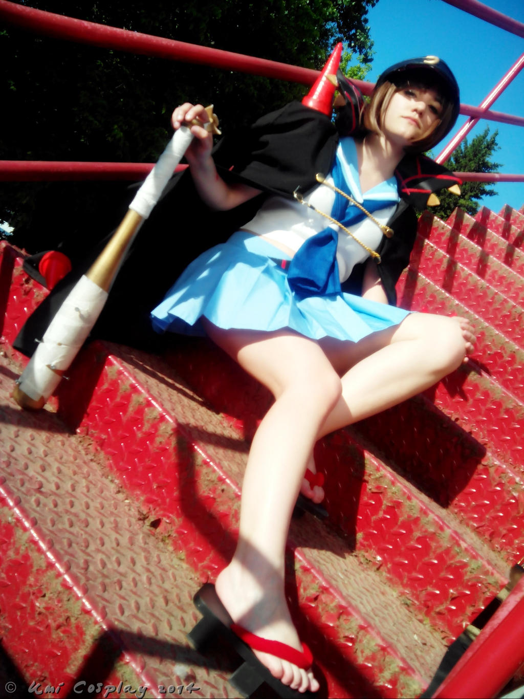 Mankanshoku Mako Fight Club by brainsandwichMako Mankanshoku Fight Club Cosplay