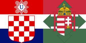 Flag of Croatia-Hungary