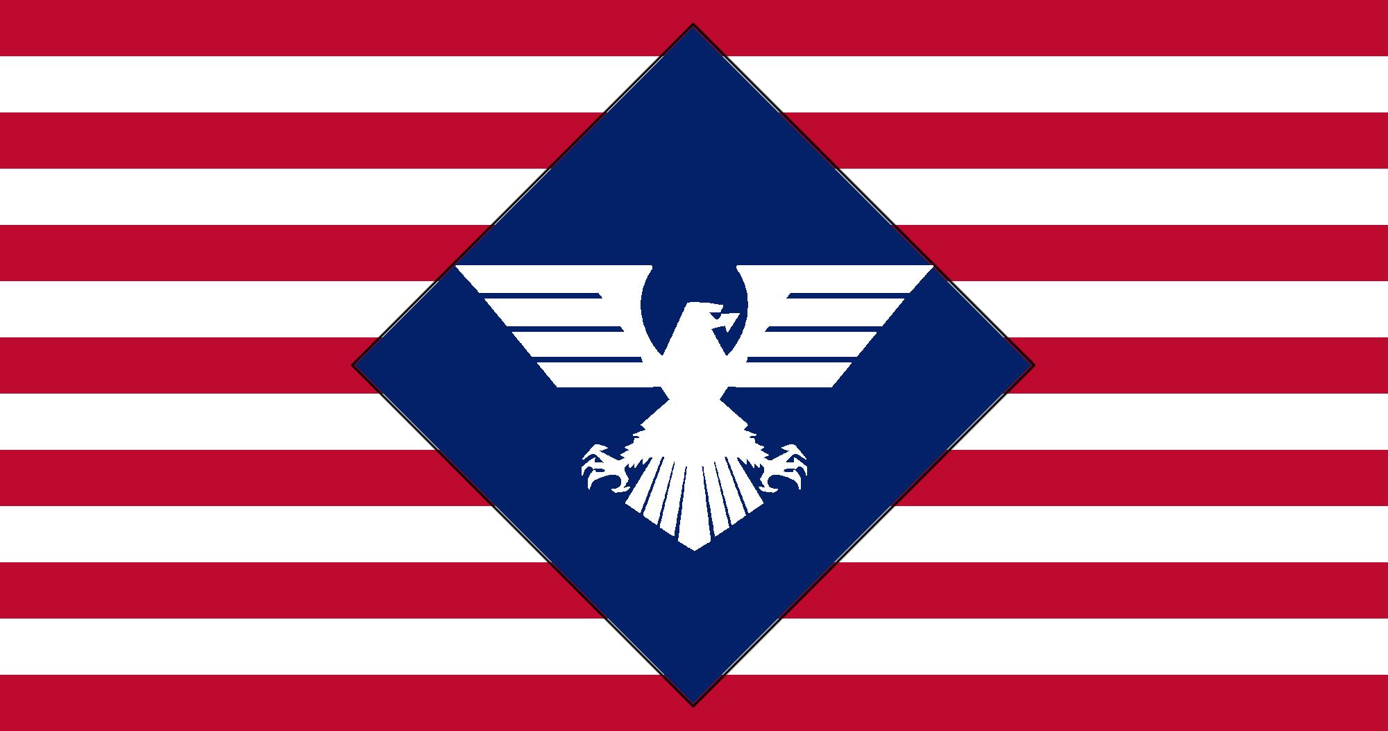 New American Flag Design