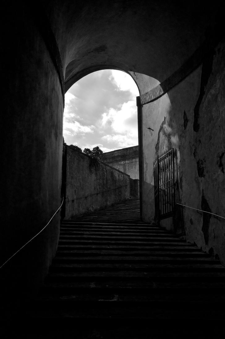 Stairway To Boboli by gwinnC