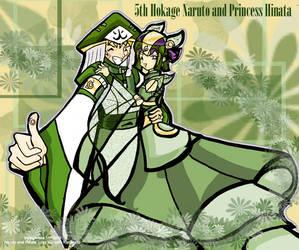 Hokage Naruto  Princess Hinata