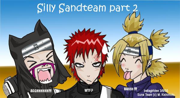 Silly Sandteam part 2 by bellagirldee