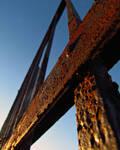 Rusty Fence by JonMnenonic