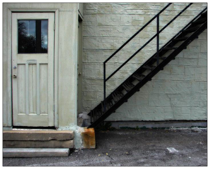 Weird Stairway by JonMnenonic