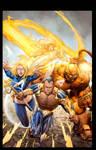 Ultimate FF vs X-Men
