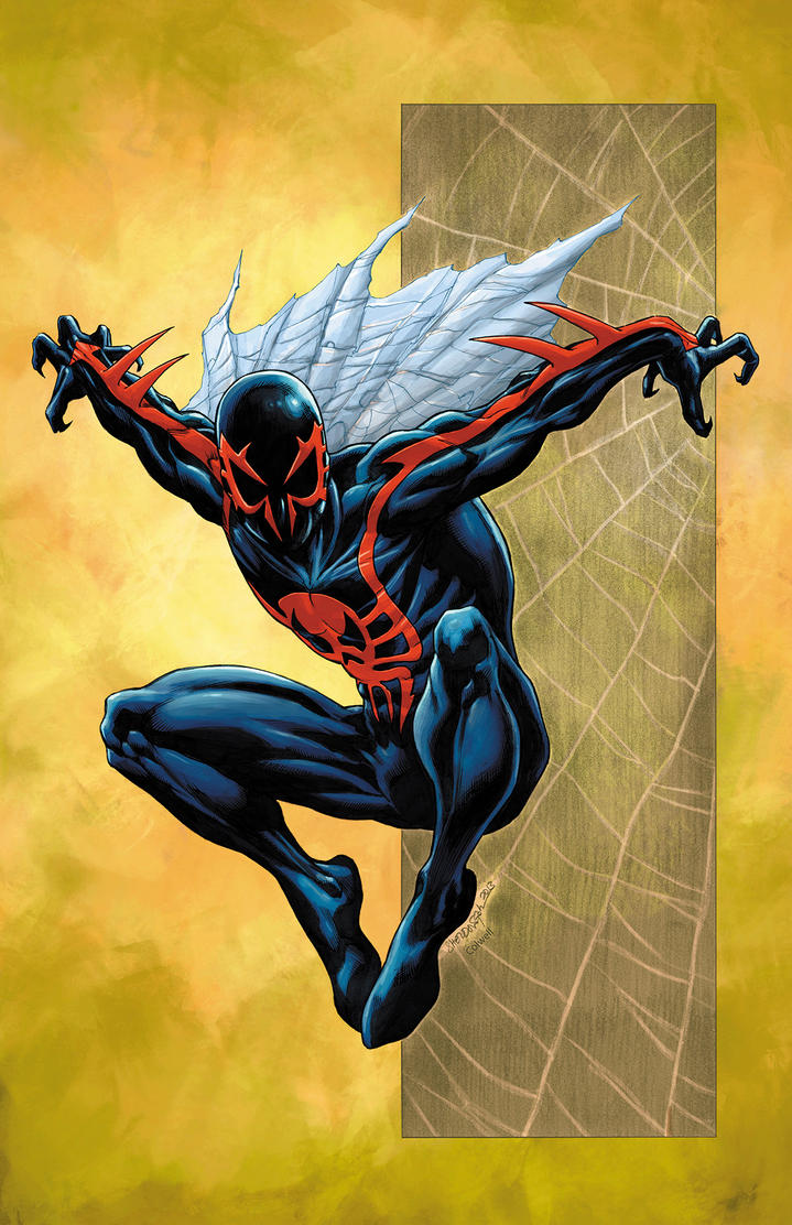 Spider-Man 2099 by JeremyColwell
