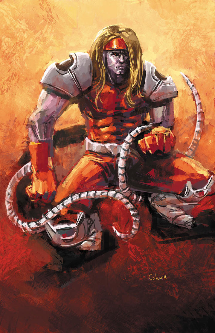 Omega Red by JeremyColwell