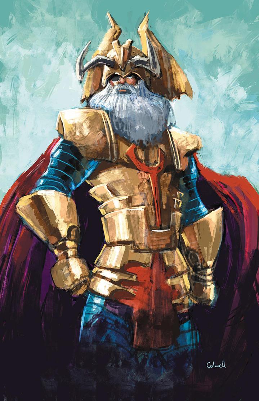 Odin by JeremyColwell
