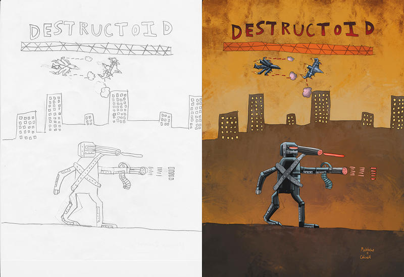 5th grade collab. Destructoid. by JeremyColwell