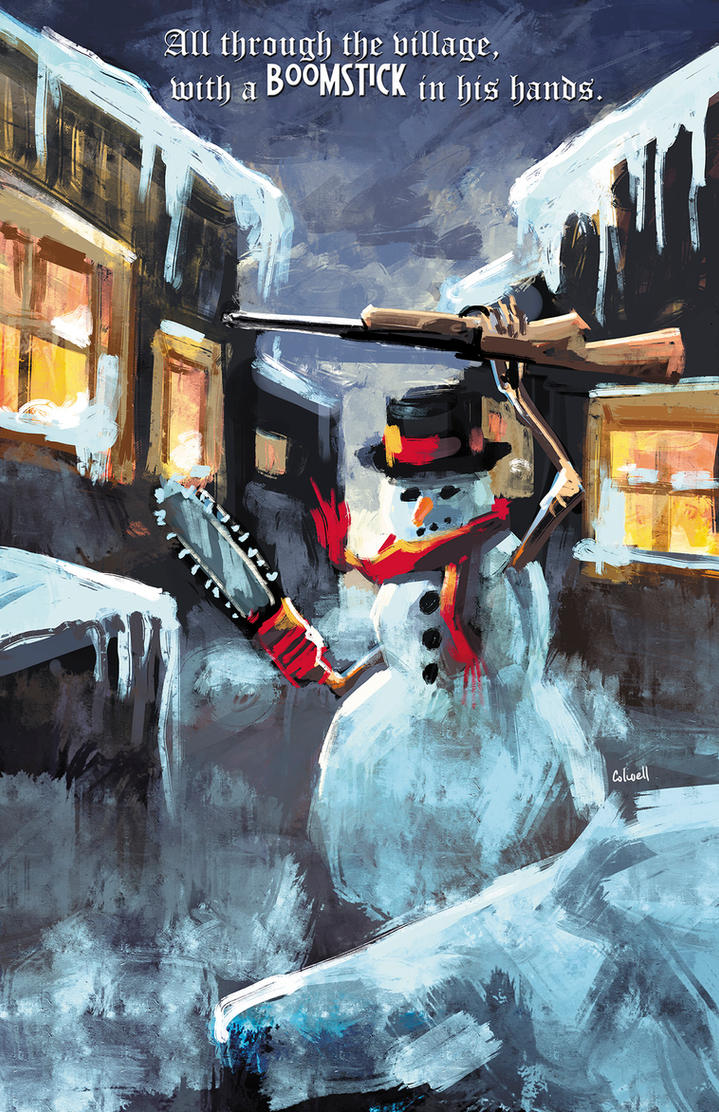 Frosty's Boomstick by JeremyColwell