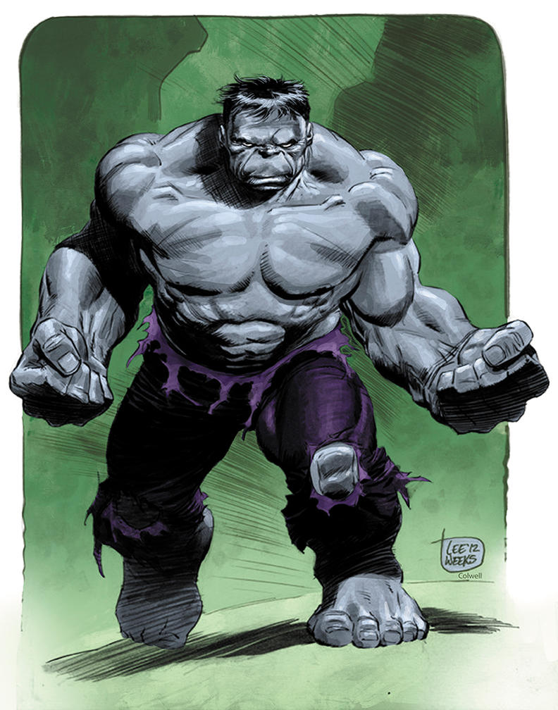 Hulk by JeremyColwell