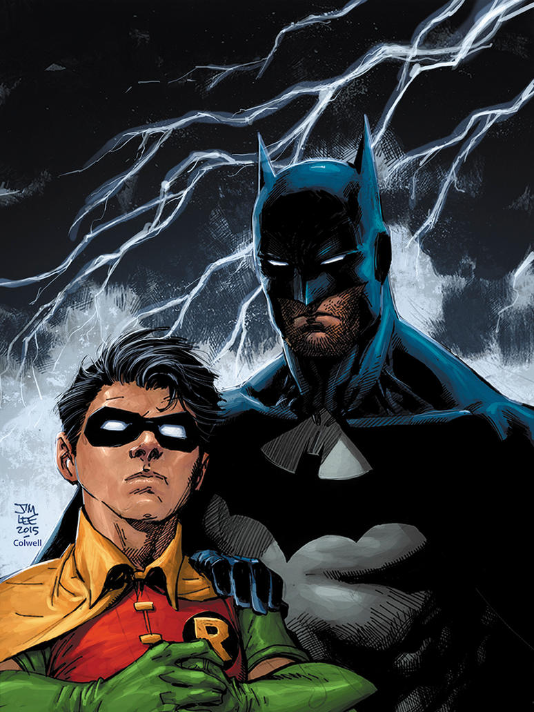 Batman and Robin by JeremyColwell