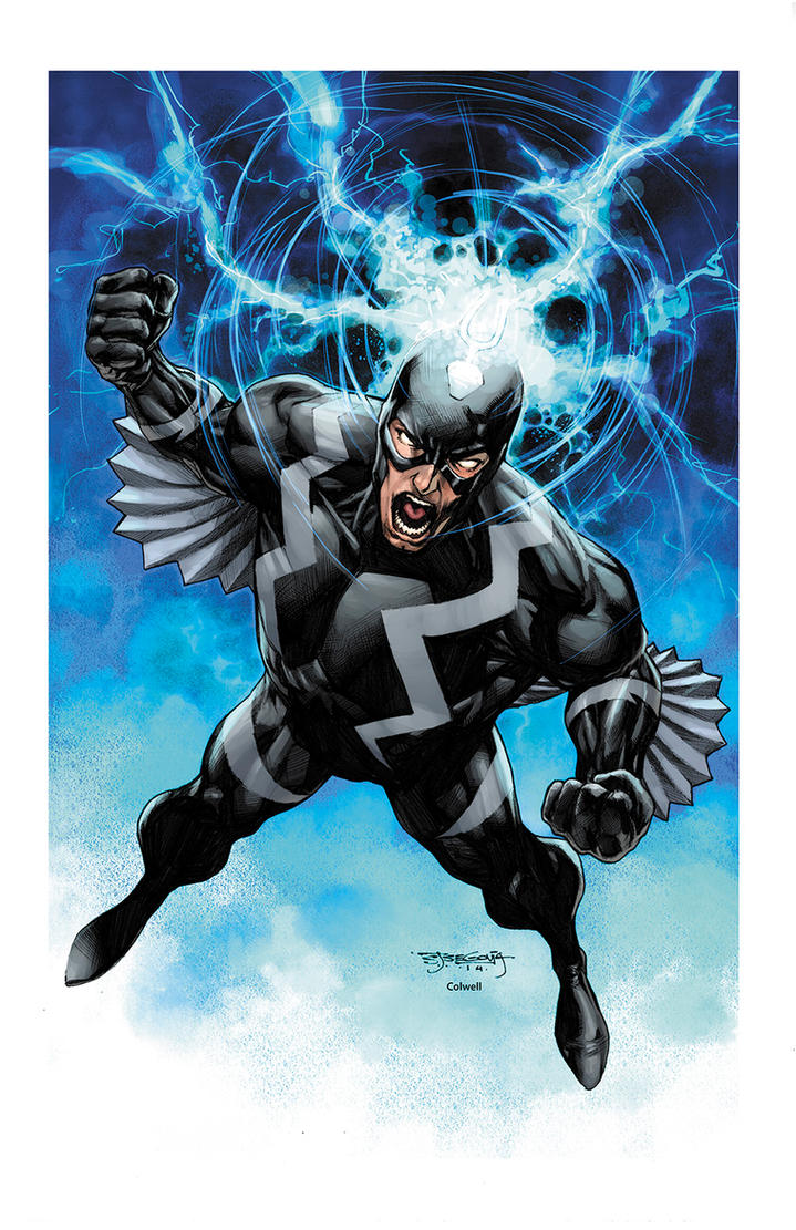Black Bolt by JeremyColwell