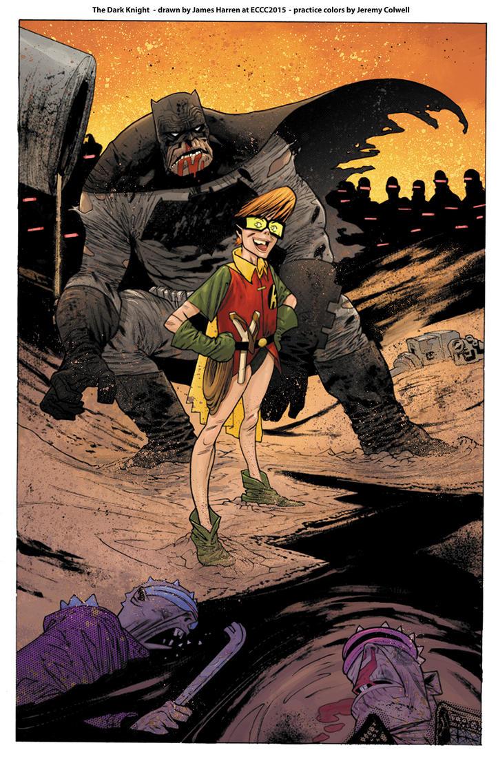 Batman The Dark Knight ECCC by JeremyColwell