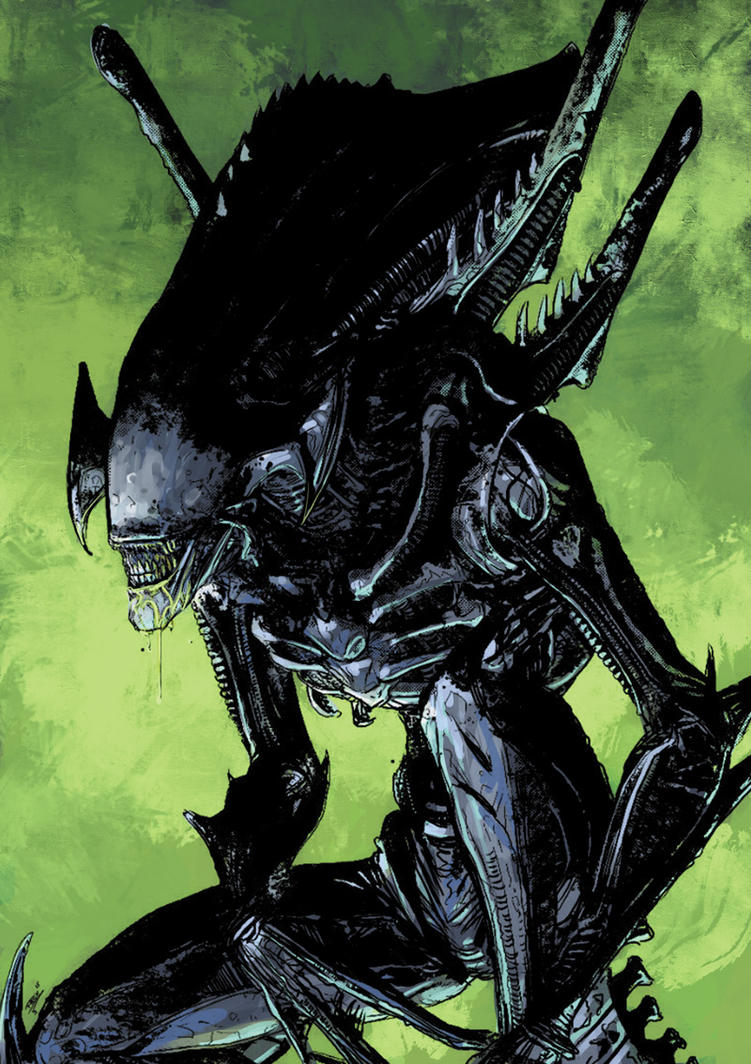 Alien by JeremyColwell