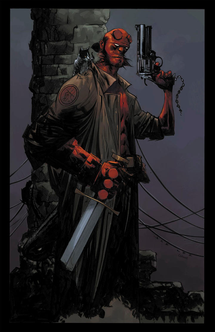 Hellboy by JeremyColwell