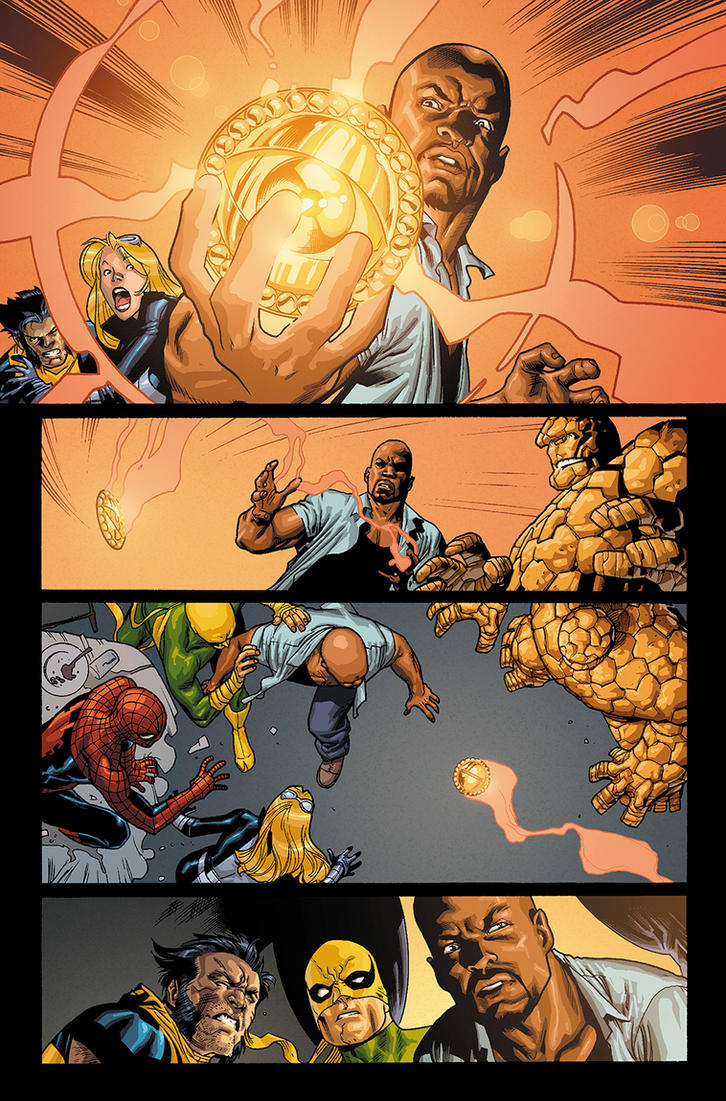 New Avengers, v2, no01 pg22 colors by JeremyColwell