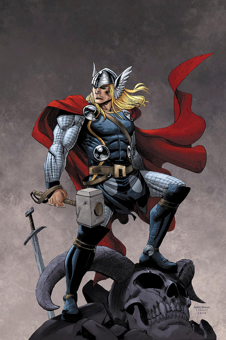 Thor by JeremyColwell