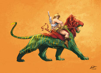 He-Man AlexanderLozano Colwell by JeremyColwell