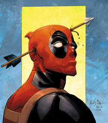 Deadpool by Reilly Brown and Colwell by JeremyColwell