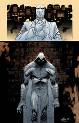 Moon Knight James Harren and Colwell