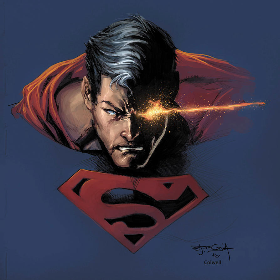 Superman Segovia Colwell by JeremyColwell