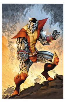 Colossus BrettBooth Colwell colors