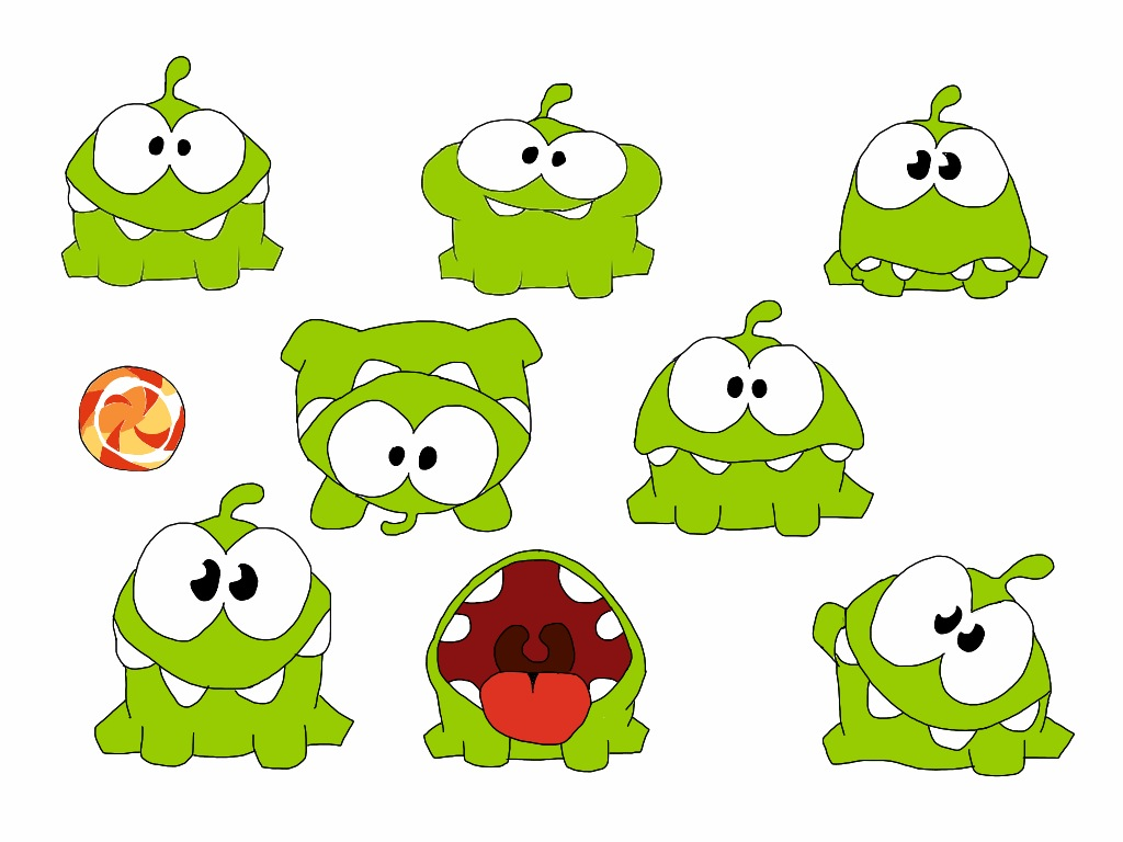 om nom cut the rope 2