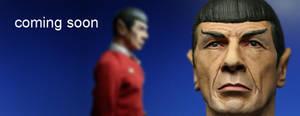 custom 12' scale Spock sculpt