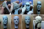 Spock sculpt - in progress