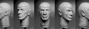 Spock sculpt - finished