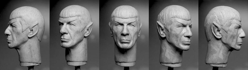 Spock sculpt - finished by DarrenCarnall