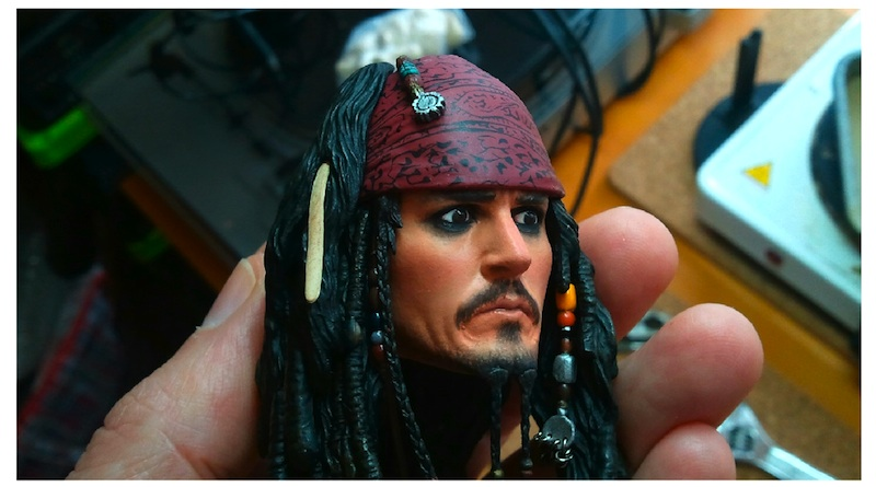 Jack Sparrow repaint - 2 by DarrenCarnall