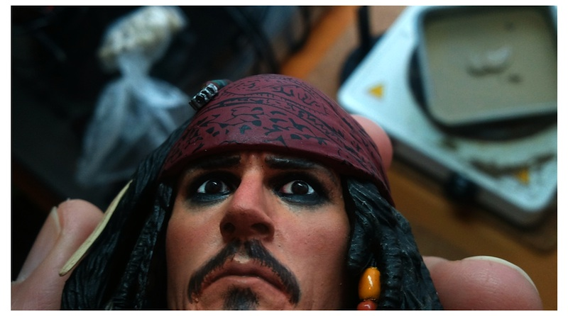 Jack Sparrow repaint - 4 by DarrenCarnall