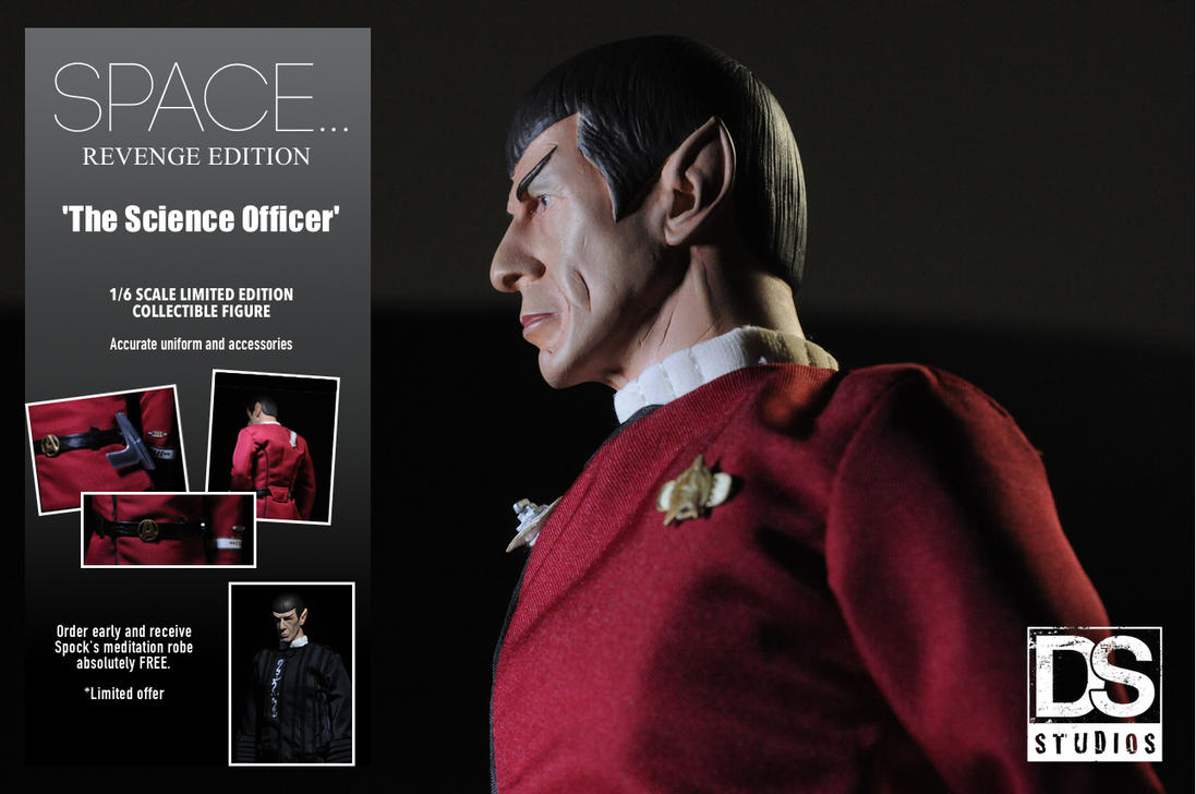 T.W.O.K. Spock 1/6 scale custom figure. by DarrenCarnall