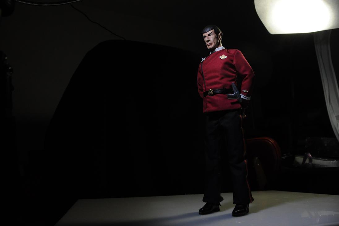 T.W.O.K. Spock 1/6 scale custom figure. by DarrenCarnall