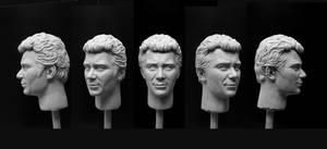 Kirk 1/6 sculpt - finished