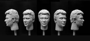 Kirk 1/6 sculpt - finished by DarrenCarnall