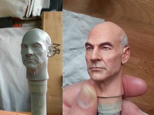 Captain Picard 1/6 Paint Master