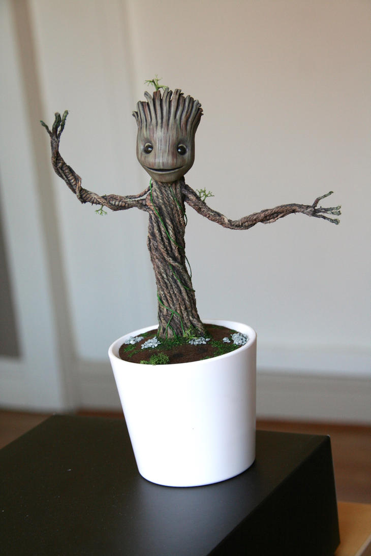Dancing Baby Groot, sound activated, [Edit - SOLD] by DarrenCarnall